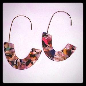 New colorful Acrylic earrings